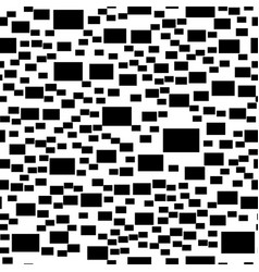 abstract monochrome simple rectangle vector image vector image