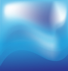 Blue mountain- storm background vector image