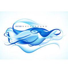 blue modern background vector image vector image