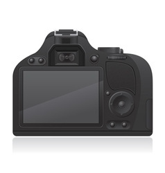 photo camera 02 vector image vector image