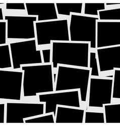 Photo frames seamless pattern for your design vector image vector image