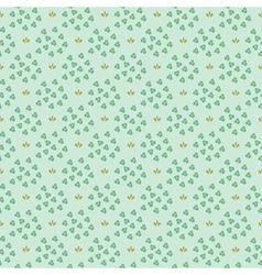 small flowers pattern vector image vector image