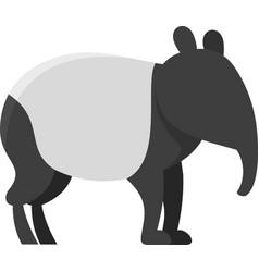 Armadillo icon flat isolated vector