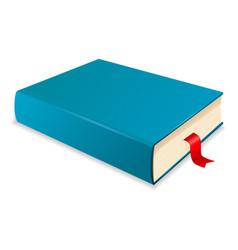 Blue book vector