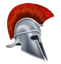 Corinthian helmet vector