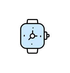 hand clock icon- time symbol hand clock modern vector image