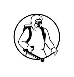 industrial worker essential worker or pest vector image