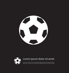 Isolated offside icon league element can vector