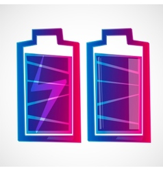 Just battery vector image