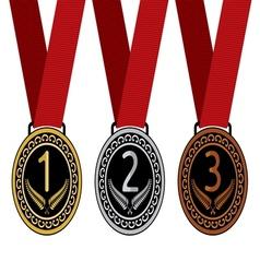 Medalje tri resize vector