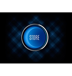 Store Button vector image