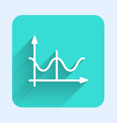 White line graph schedule chart diagram vector