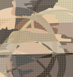Abstract background squares vector