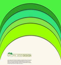 Abstract natural eco background vector