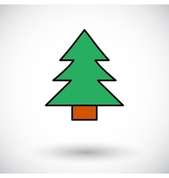 Conifer vector image