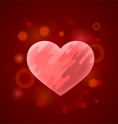 Heart in divorce vector