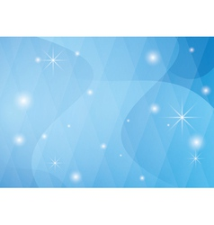 light blue background with wavy abstractions vector image