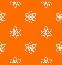 molecules of atom pattern seamless vector image