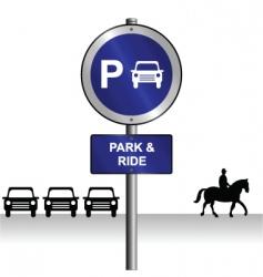 Park ride vector