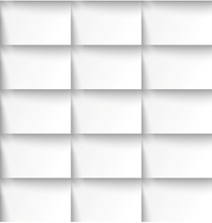 Rectangles with drop shadows vector image vector image