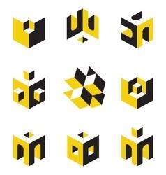Symbols on construction topics vector