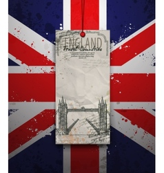 Tower Bridge England London vector image