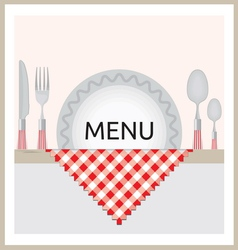 Restaurant Menu vector image