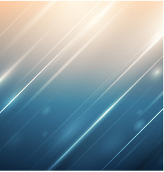 abstract lines with lighting on gradient vector image