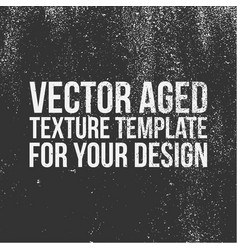 Aged texture template vector