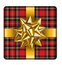 Tartan wrapping vector