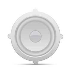 Icon loudspeaker Audio loud speaker vector image vector image