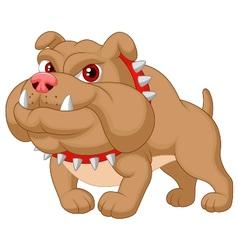 Bulldog cartoon vector image