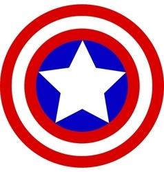Captain America Logo vector image