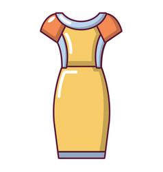 dress icon cartoon style vector image