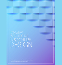 abstract poster concept vector image