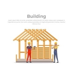 Building Process Success Engineer vector