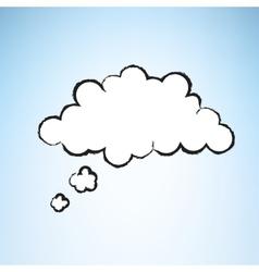 Cartoon Thought Bubble vector