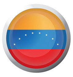 Isolated flag of venezuela vector