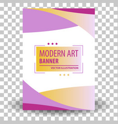 website header or banner vector image