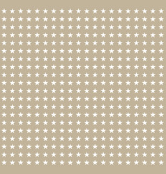 white stars pattern on gray background vector image