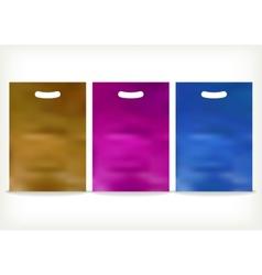 Plastic Bag vector image