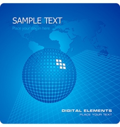 stylish business template vector image vector image