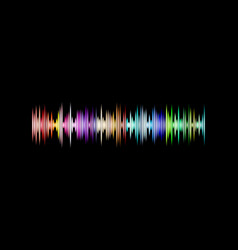 a music equalizer wave vector image
