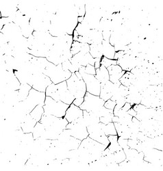 Cracked overlay texture vector