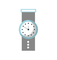 hand watch time business timer plan concept vector image