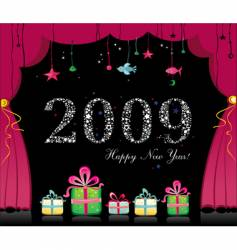 happy new year image vector image