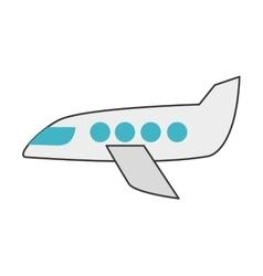 jet plane icon vector image