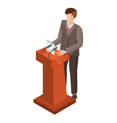 Politicians people set Royalty Free Vector Image