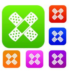 Patch set color collection vector