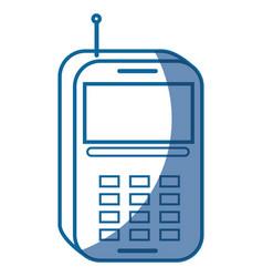 Phone device icon vector